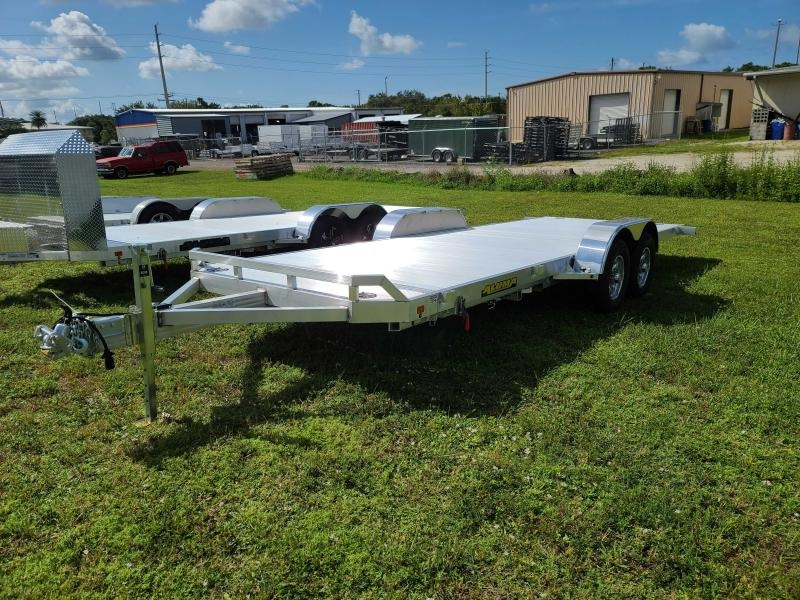 Aluma 8220H Tiltbed Car Trailer 9990 LB GVWR Aluminum