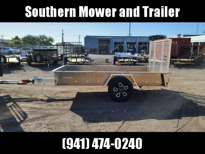 2021 Belmont AIR6110 10' Aluminum Utility Trailer
