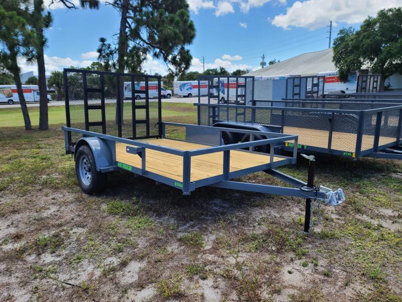 2021 Rhino Trailers 76X10 TubeTop Utility Trailer