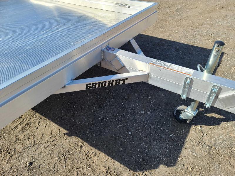 2022 Aluma 6810H-S-BT Aluminum Utility Trailer