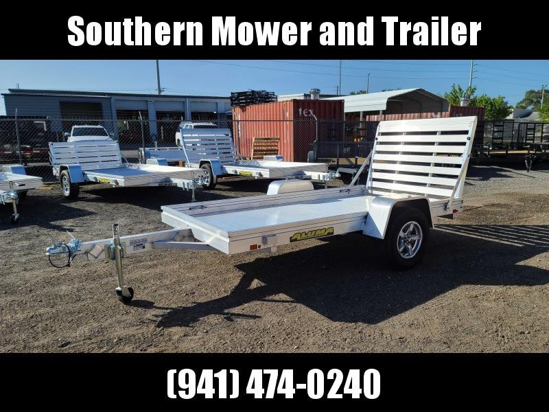 2022 Aluma 6310H-S-TG Aluminum Utility Trailer