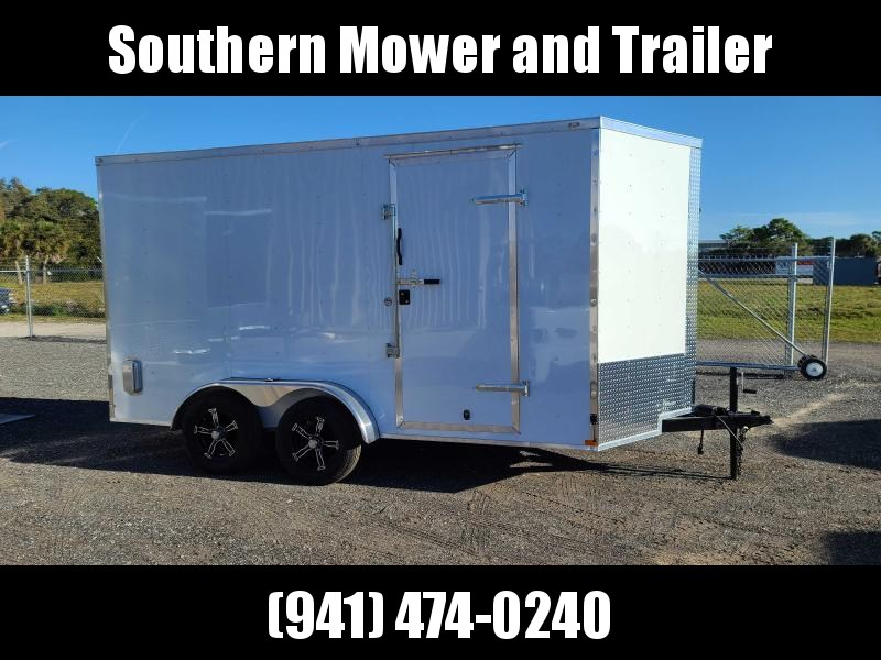 2021 Lark 7X14 Extra Tall Enclosed Cargo Trailer