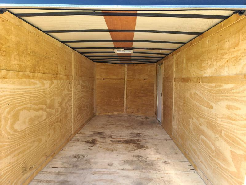 Used 2021 South Georgia 7X16 Enclosed Cargo Trailer