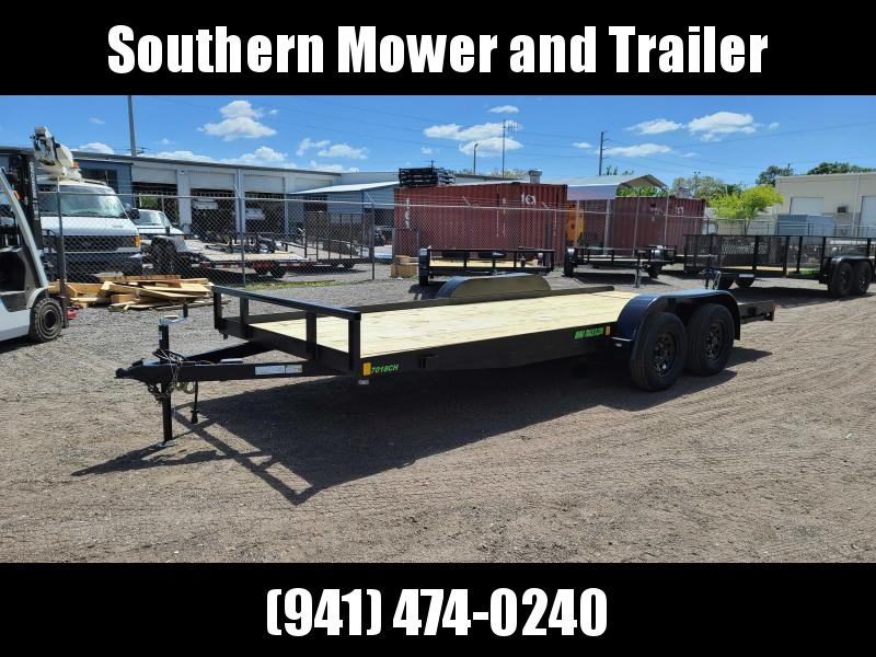 2021 Rhino Trailers 82x18' Car Hauler Trailer 7000 LB GVWR