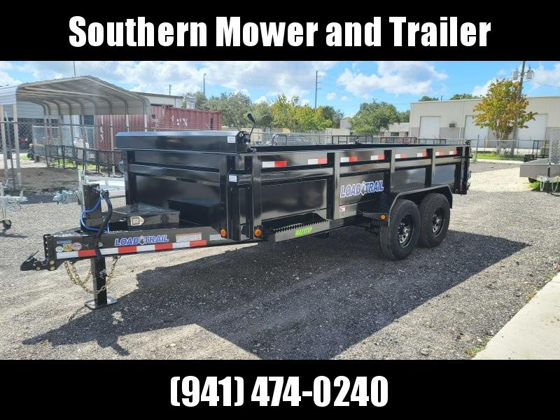 2022 Load Trail 83X16 Dump Trailer 14K LB GVWR W/ Ramps Tarp