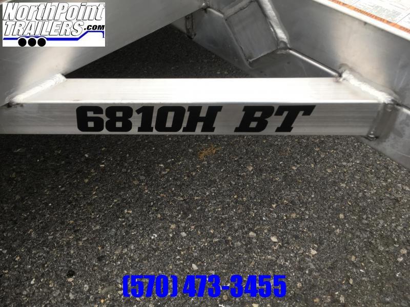 "2022 Aluma 6810H w/ Bi-Fold Tailgate Utility Trailer - 68"" x 10' Utility Trailer"