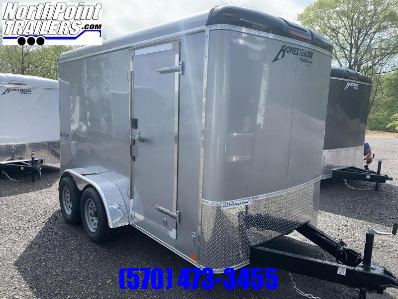 2021 Homesteader 612CT - Ramp Door - Silver