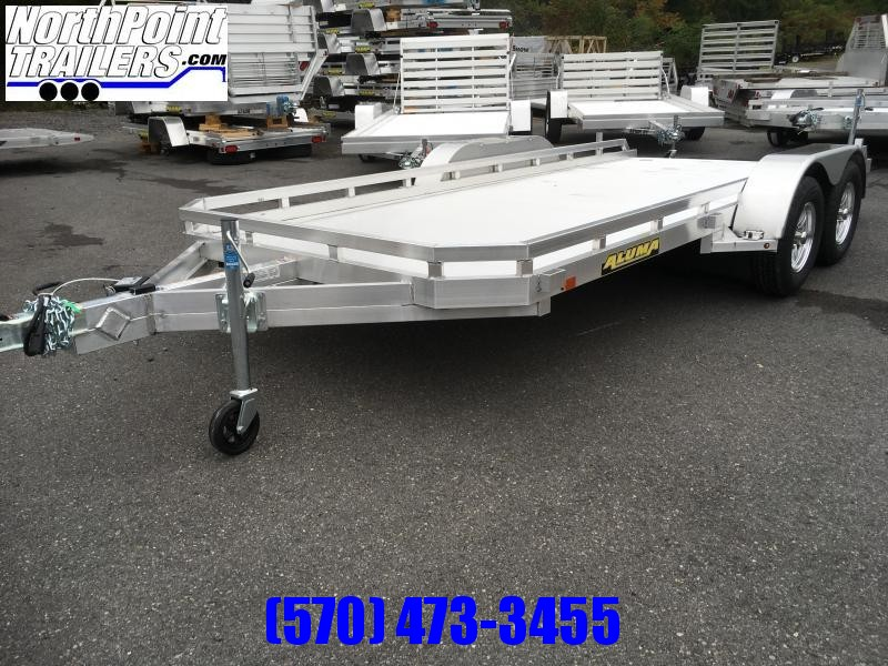 2022 Aluma 7816R Tandem Axle Utility Trailer