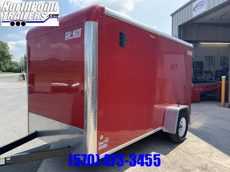 **USED** 2018 Car-Mate 6x12 Cargo Trailer