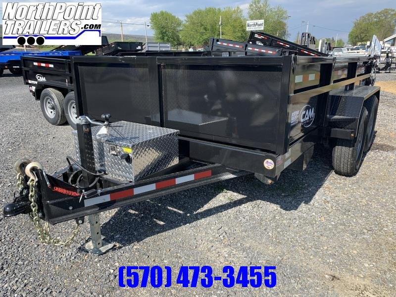 2021 CAM Superline 7x12 Heavy Duty Dump Trailer - 6KHD Axles - BEAST