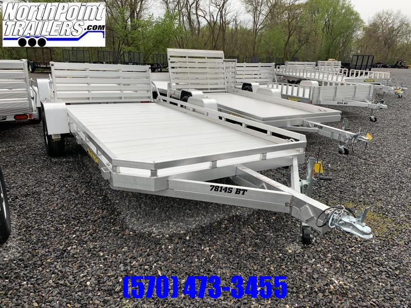 Aluma 7814S-BT  - Bi-Fold Tailgate w/ Perimeter Rail