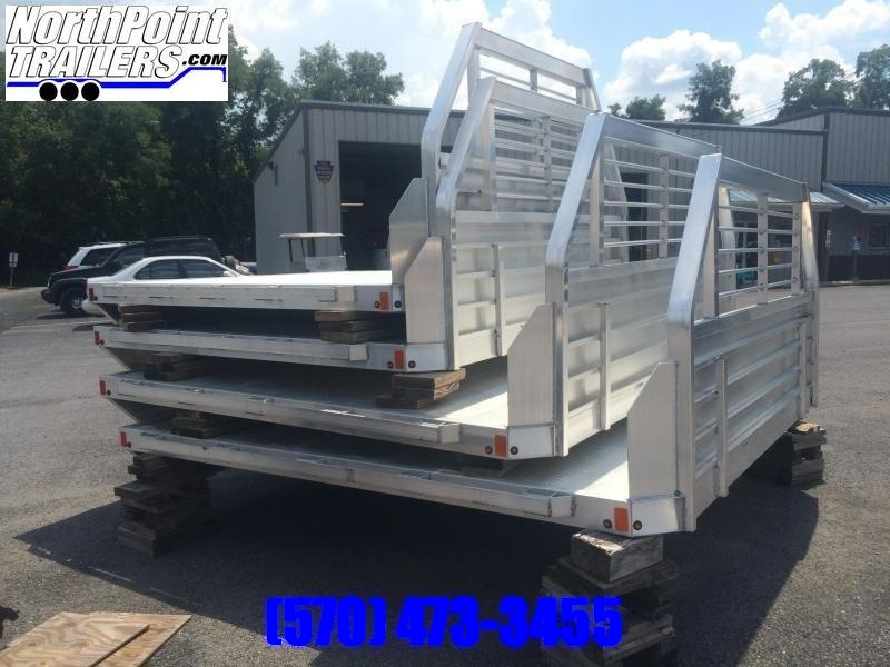 Aluma 81x106H - Heavy Duty Single Wheel Long Bed Truck Bed
