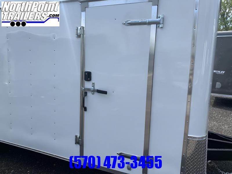"""2021 Homesteader 8.5x20 Challenger Trailer_Ramp Door - 80"""" Door"""