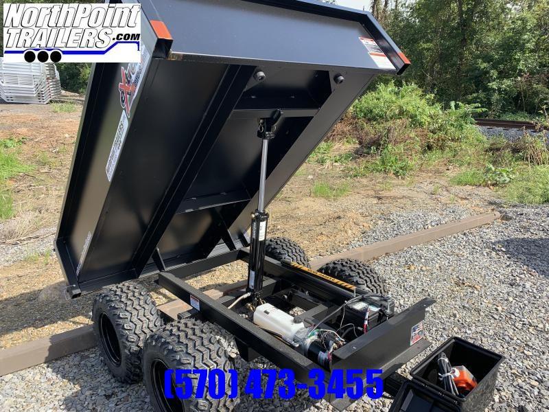 Extreme XT-200 Dump Trailer - OFF-ROAD Use Dump Trailer - Black