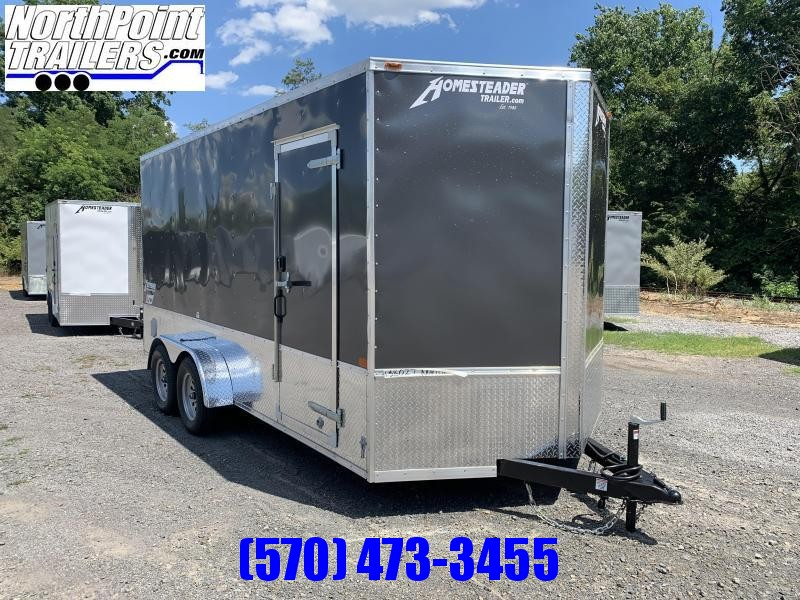 2021 Homesteader 716IT w/ OHV Package - 7' Interior - Charcoal Gray
