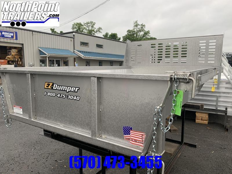 EZ Dumper 8' Stainless Steel Insert w/ Cab Protector Dump Bodies