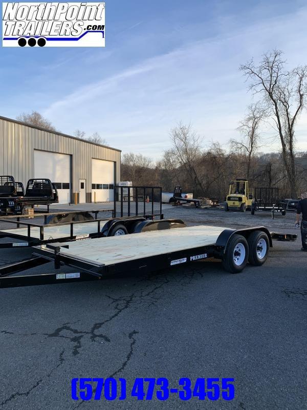 2020 Premier Trailers Inc. FT820-10K Car Trailer - 10k GVWR