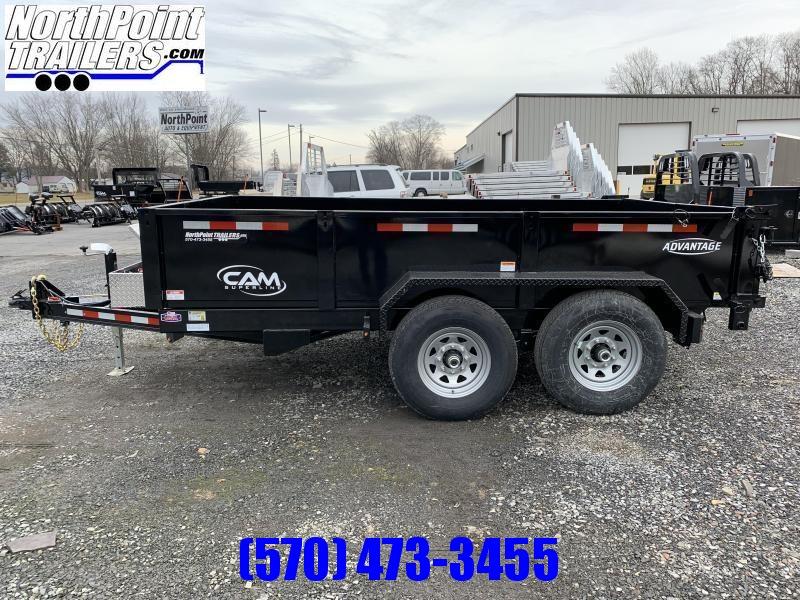 2021 CAM Advantage 7x12 Dump Trailer - 12K HD Dump Trailer - ON ORDER