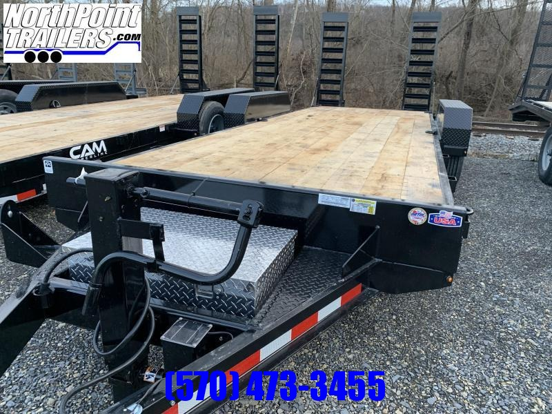 2021 CAM - 8CAM20C - 20' Equipment Trailer - 18400 GVWR - 8K Oil Bath Axles