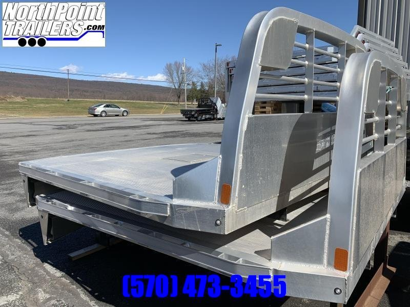 "CM ALRD Truck Bed - 84"" x 8' 6"" - SRW Long Bed - 42"" Frame Rail"