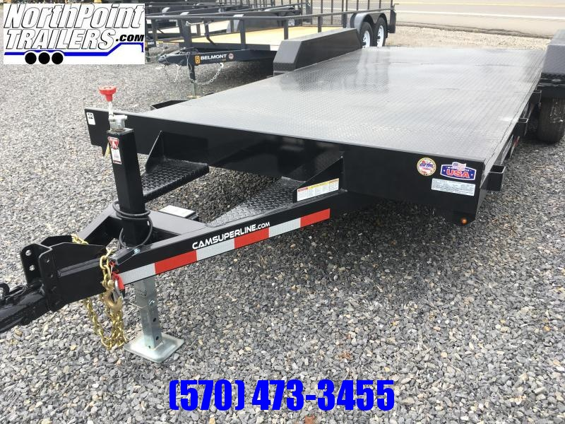 2020 Cam Superline 18' Steel Deck Car Hauler