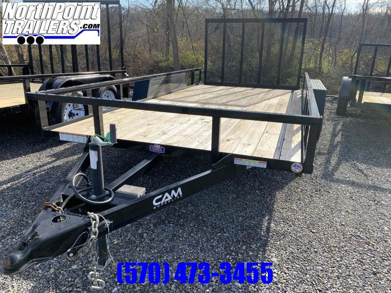 2021 Cam Superline 7x14 Tube Top Utility Trailer