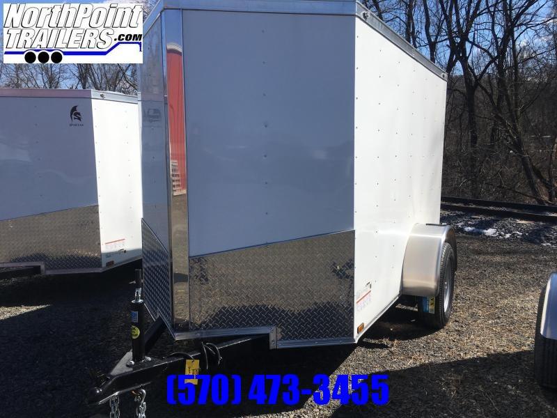 2019 Spartan Cargo SP5X8SA Enclosed Cargo Trailer - White