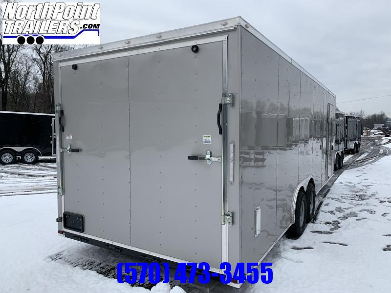 "2021 Spartan Cargo SP8.5x24 Enclosed Trailer - 84"" Interior - Arizona Beige - 5.2K Axles"