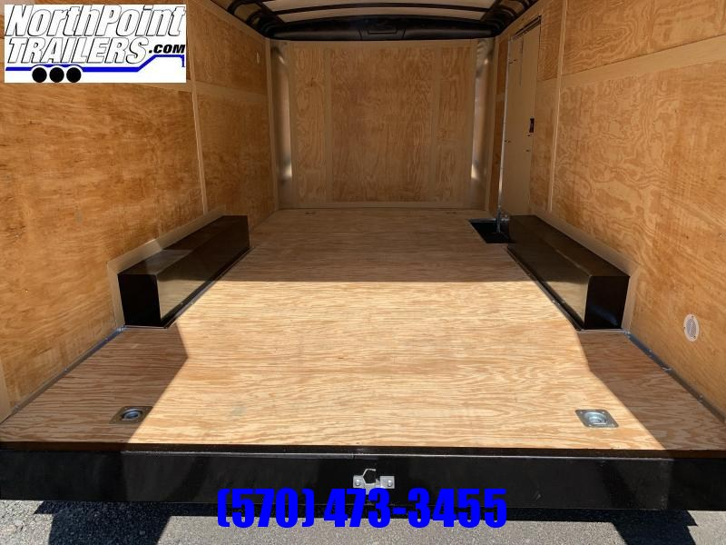 2021 Homesteader 8.5x16 Challenger Trailer_DBL Doors - BLACK - 5.2k Axles - CONTRACTOR OPTIONS