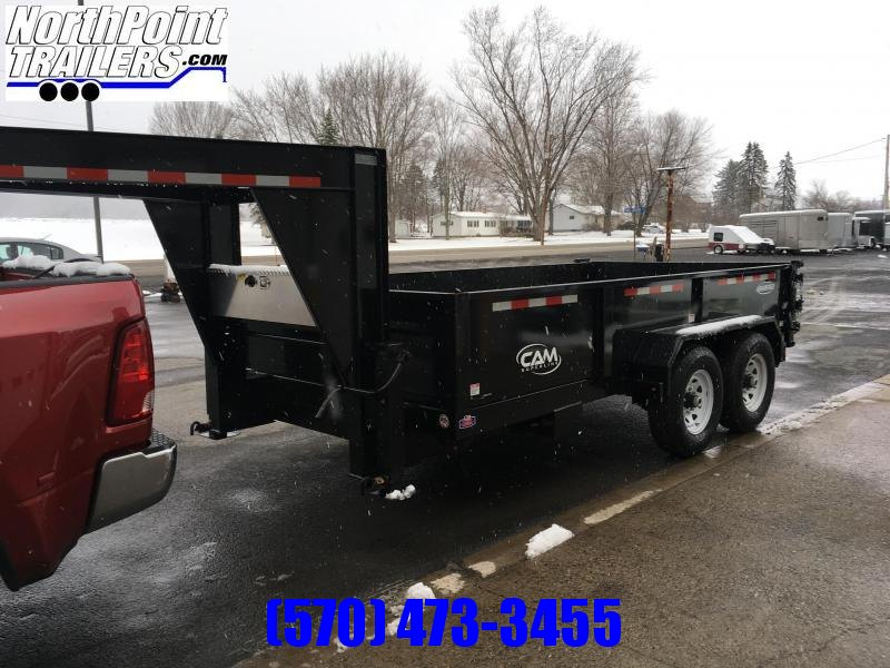 2019 CAM Advantage 7x14 - 14K Heavy Duty Gooseneck Dump Trailer