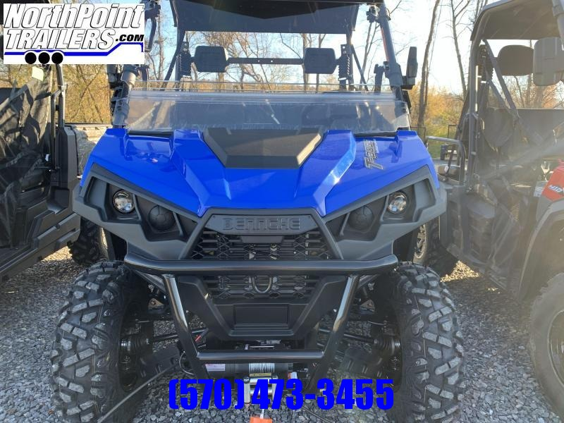 2021 Bennche T-Boss 550 - Blue Utility Vehicle