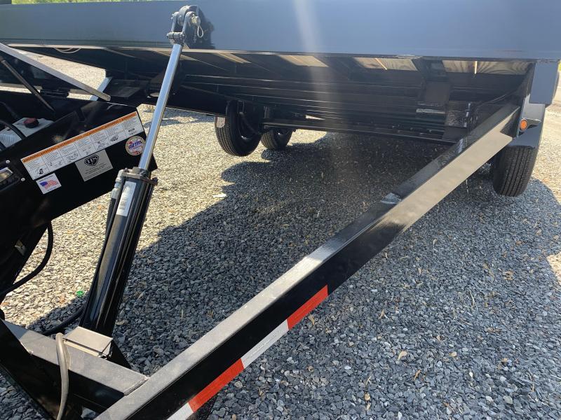 2021 TRAILERMAN 18'_10K Electric Tilt Car Trailer Car / Racing Trailer