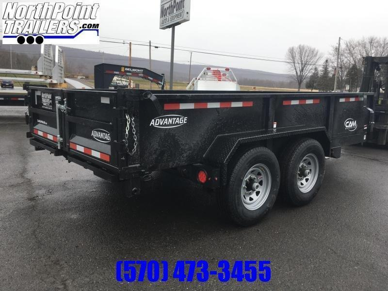 2021 CAM Advantage 7x14 - 14K Heavy Duty Dump Trailer