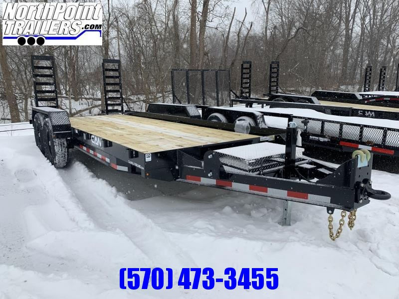 2021 CAM - 18' ANGLE FRAME - 12K GVWR Equipment Trailer