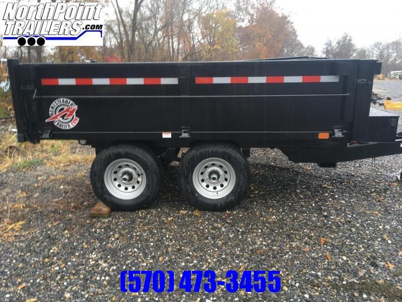 2020 Homesteader 610MB Dump Trailer W/ Curbside Fold Down - Barn Doors - 9950# GVWR