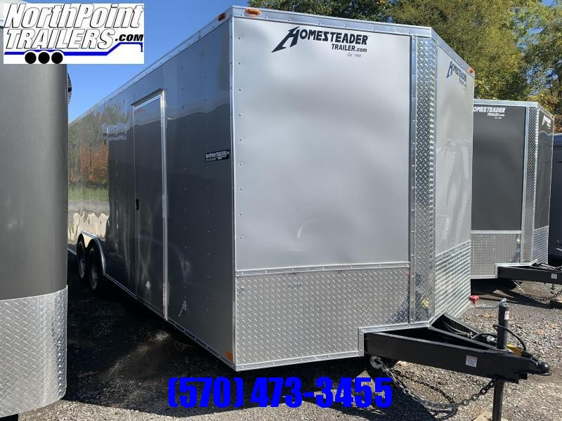 2020 Homesteader 824IT - 8 x 24' - SILVER