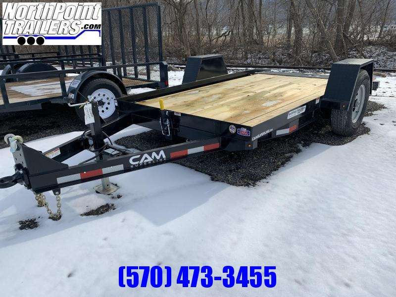 2021 Cam Superline 6x12 Single Axle Tilt Trailer - 6900# GVWR