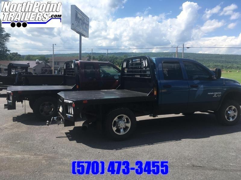 "CM RD2 Truck Bed - 84"" x 84"" Truck Bed - SRW SHORT BED - 38"" Frame Rail"