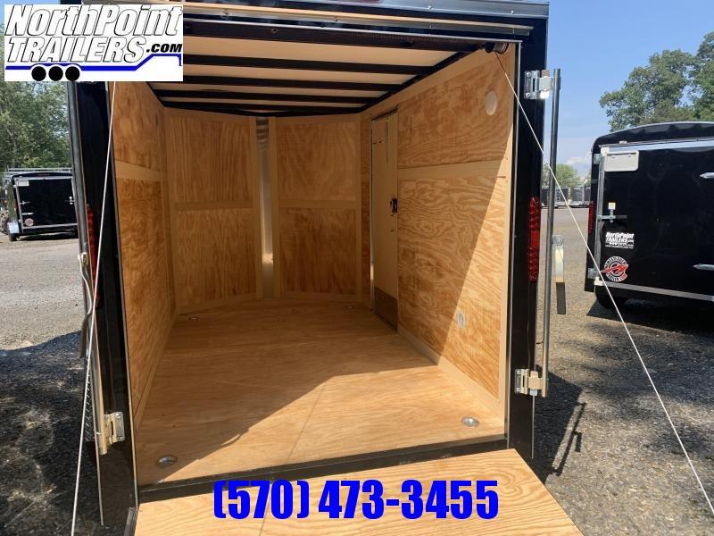 2021 Homesteader 610IS Cargo Trailer - Ramp Door - Black
