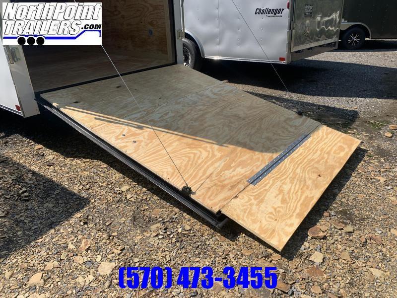 2021 Homesteader 716CT - Ramp Door - WHITE - EXT. HEIGHT