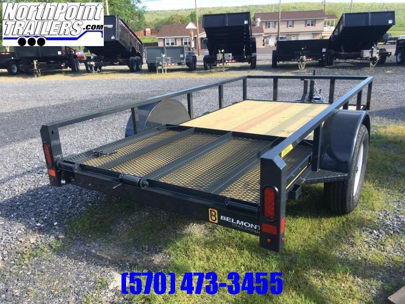 2021 Belmont Trailers - UT510TT Utility Trailer - CHARCOAL