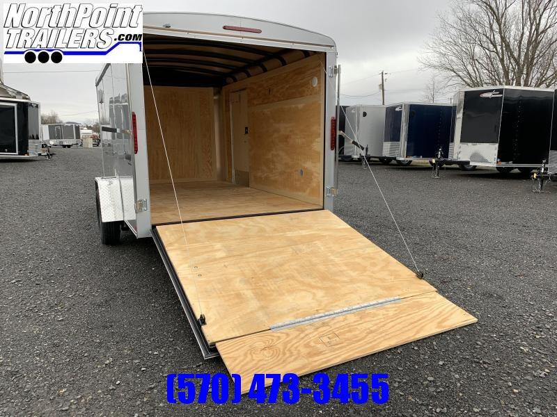 2021 Homesteader 712CS - 7x12 - Ramp Door - Silver