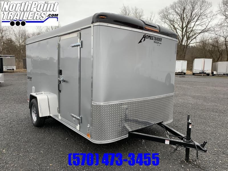 2021 Homesteader 712CS - 7x12 - Ramp Door - Silver
