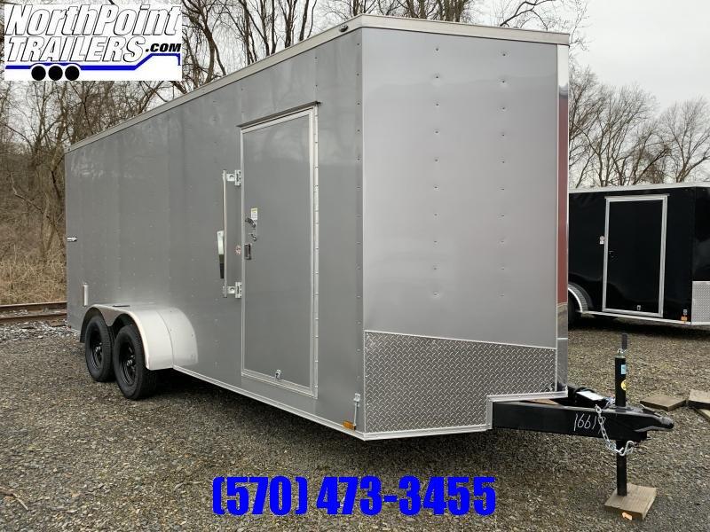 "2020 Spartan Cargo SP718TA Cargo Trailer - 80"" Door Opening - SilverFrost"