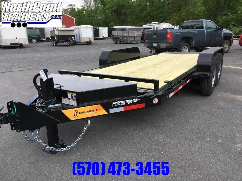 2021 Belmont SSTD18-14K Skidsteer Tilt Deck - BLACK
