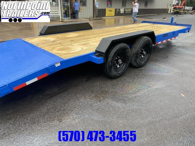 2022 Cam Superline 22' - 10K Car Hauler  - BLUE w/ Black Fenders