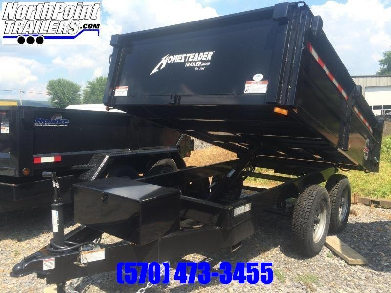 2021 Homesteader 610MB Dump Trailer - 9950# GVWR - BARN DOORS
