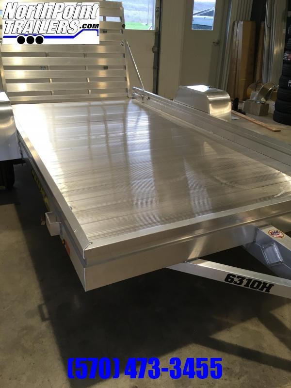 "2022 Aluma 6310H Aluminum Utility Trailer - 63"" x 10' Trailer"