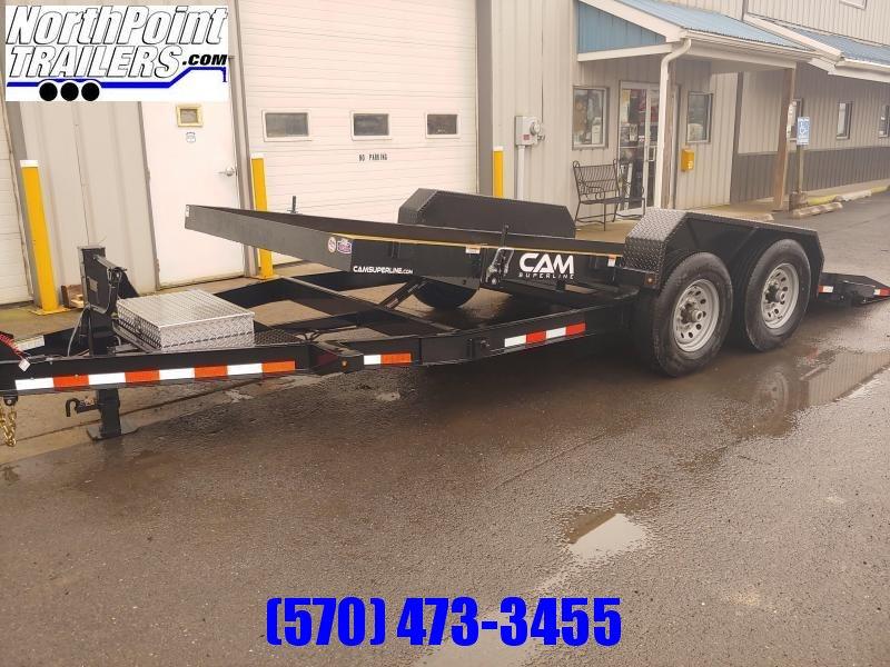 2021 CAM 20' Full Tilt Equipment Trailer - 14000 GVWR