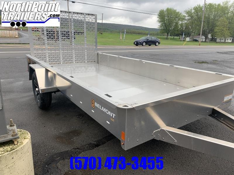 2021 Belmont Belmont 6x12 Aluminum Utility Utility Trailer